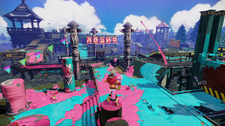 Splatoon Gameplay